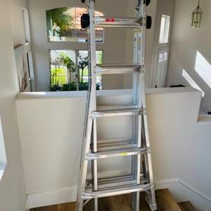 Lot # 59- Aluminum Gorilla Ladder