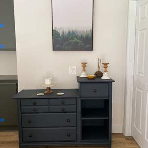 Lot # 86-Hi-Low Dresser/Hall Table, Wall Art, and More!