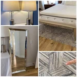 Lot # 87- Living room/ Bedroom Furnishings