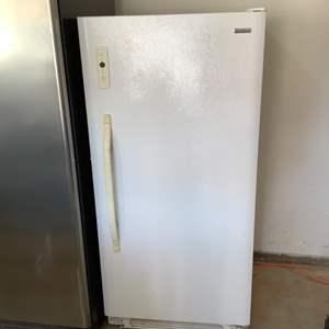 Lot # 105-Kenmore Upright Freezer