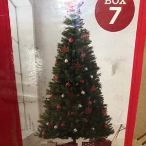 Lot # 111- Douglas Fir  7 1/2 ft Christmas Tree