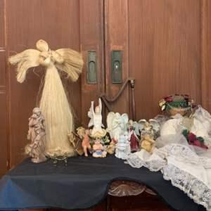 Lot # 10-Cherubs and Angels