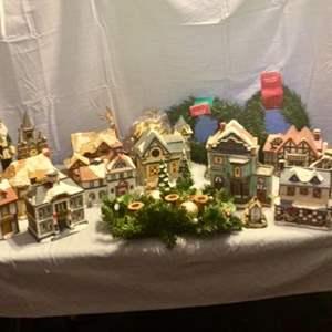 Lot # 24-Christmas Village Houses