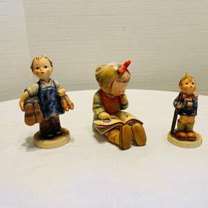 "Lot # 26-Goebel Hummels- Including RARE ""Boots"" Figurine"