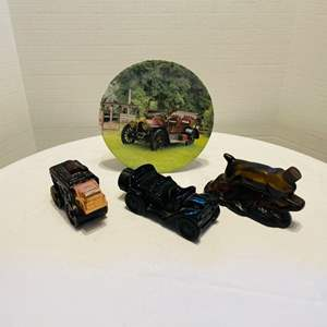 Lot # 31- Avon Collectibles with Decor Plate