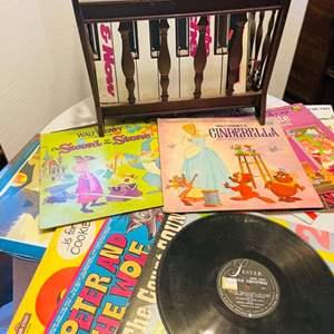 Lot # 33- Vinyl Albums: Including Disney Classics!