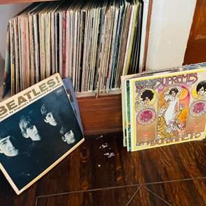 Lot # 34- Vinyl Albums- Including Beatles & Johnny Cash