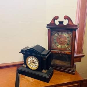 Lot # 43- Vintage Clocks