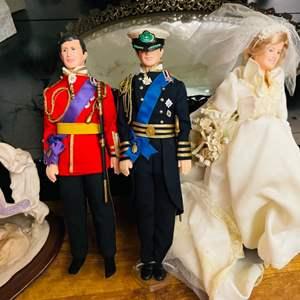 Lot # 54-Miscellaneous Dolls- Including Princess Diana!