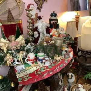 Lot # 58- Vintage Christmas Decor