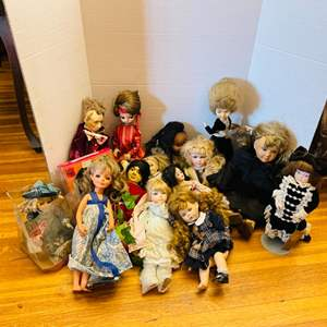 Lot # 64- Vintage Doll Collection
