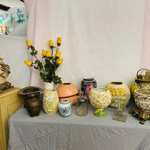 Lot # 77- Assorted Vases