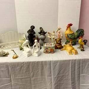 Lot # 81- La Belle Nouveau Limited Edition Figurine & Other Cool Finds