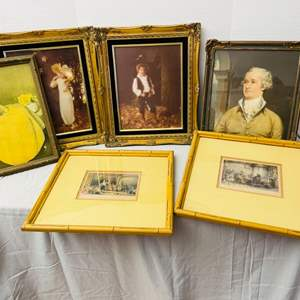 Lot # 86-Cool Vintage Art and Photos
