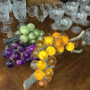 Lot # 100- Vintage Glassware- 60+ Items