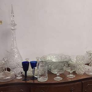 Lot # 112- Glassware and Crystal