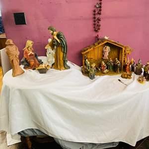 Lot # 120- Two Nativity Scenes