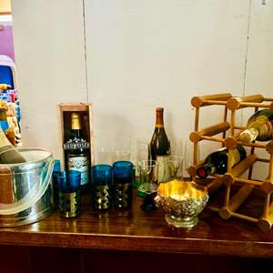 Lot # 130- Unique Budweiser Collector's Box + More