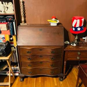 Lot # 137-Antique Secretary Desk