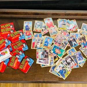 Lot # 140- Vintage Baseball Cards, Collectable Elvis Bubblegum Cards & More