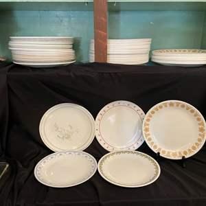 Lot # 150- Vintage Corelle Dinner Plates