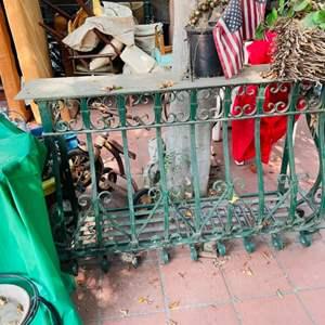 Lot # 164- Wrought Iron Balcony Railing ~ Yep, Another One!
