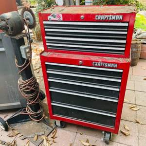 Lot # 169-Large Craftsman Tool Chest ~ Contents Included