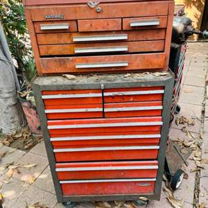 Lot # 170-Craftsman and Kennedy Toolboxes