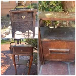 Lot # 203- Vintage Side Table Set