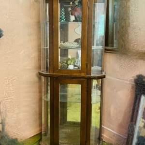 Lot # 217- Antique China Hutch