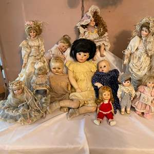 Lot # 223-Vintage Doll Collectables!