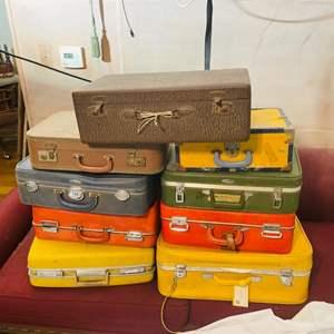 Lot # 224- Vintage Suitcases