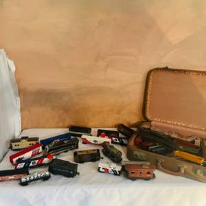 Lot # 229-Antique and Vintage Train Collectibles.