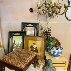 Lot # 231- Vintage Asian Collectibles