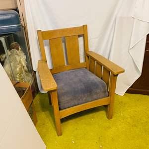 Lot # 247- Stylish, Indoor/ Outdoor Wood Chair