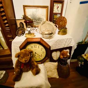 Lot # 248-Vintage Treasures- Clocks, and More