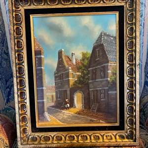 Lot # 10- Original Oil Painting + Certificate of Authenticity