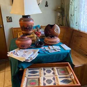 Lot # 20- Southwest Decor + Pottery