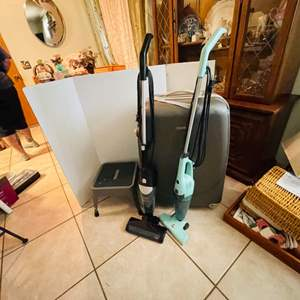 Lot # 29- Rolling Suitcase, Mop and More