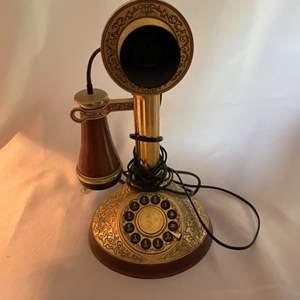 Lot # 64- Franklin Mint Alexander Graham Bell Telephone