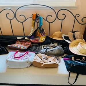 Lot # 72- Purses & Hats