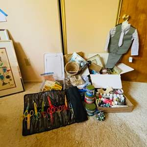Lot # 77- Tons of Craft & Gift Items