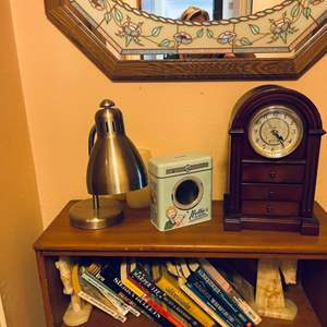 Lot # 78- Bookcase & Contents + More
