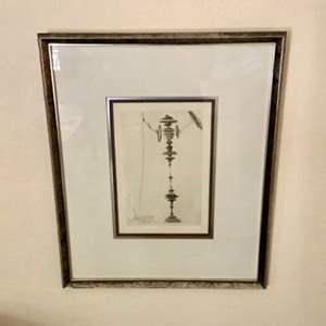 Lot # 83- Salvador Dali Lithograph