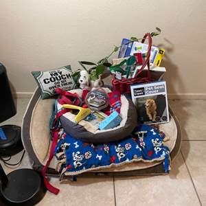 Lot # 97- Dog Supplies
