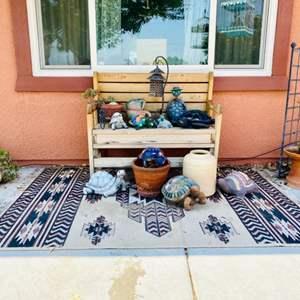 Lot # 100- Adorable Patio Setup