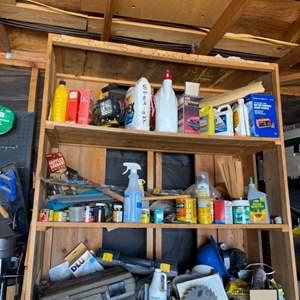 Lot # 161- Shop-vac, Saw, Rotozip Spiral Saw, Battery Charger, Body Repair Kit & More