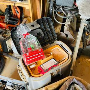 Lot # 162-Tool Boxes- Miscellaneous Tools- see pictures