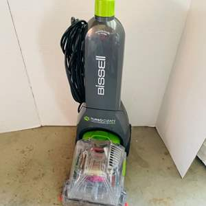 Lot # 166- Bissell Turbo Clean- Carpet Shampooer