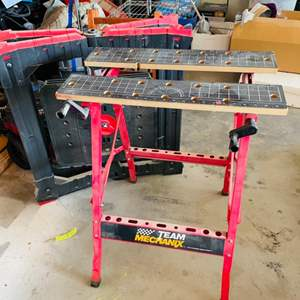 Lot # 181- Two Table Saw stands